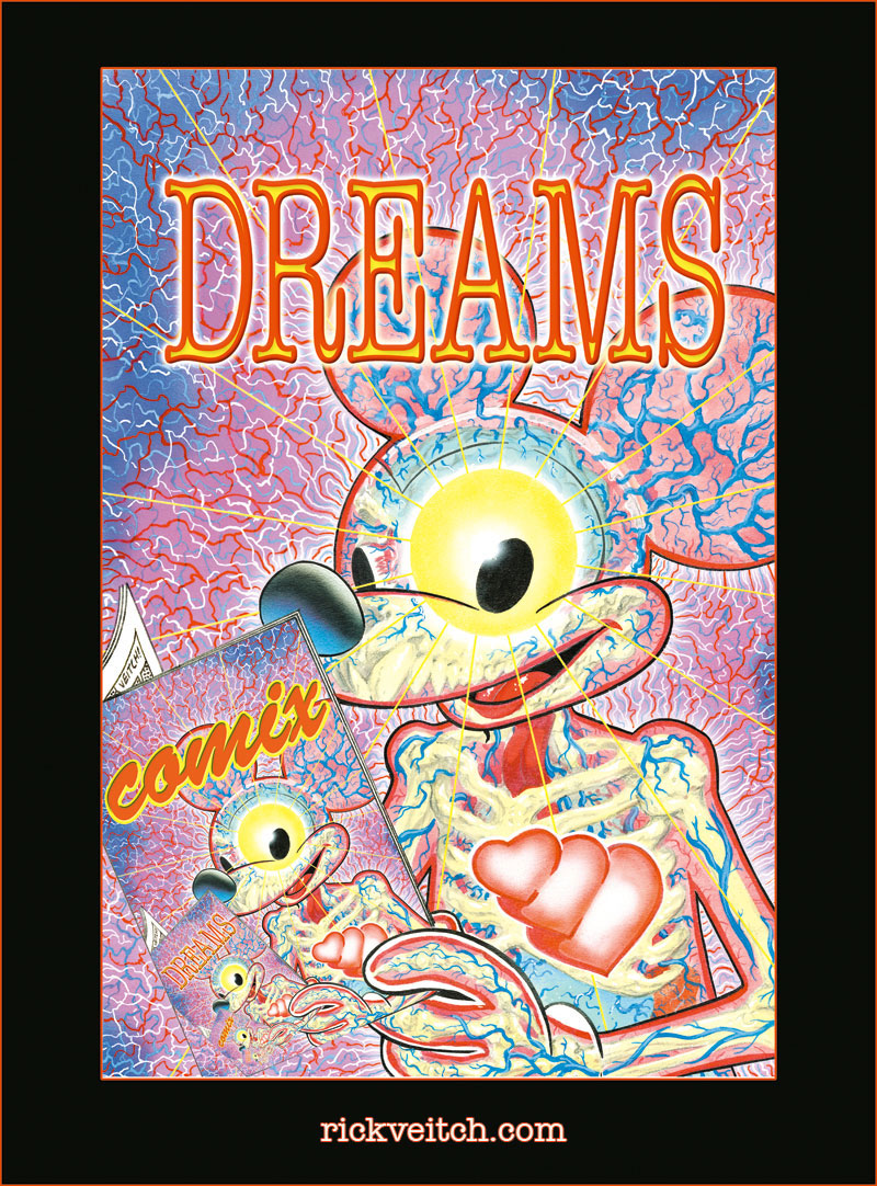 Dreams And Comix Poster